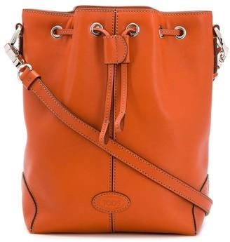 Tod's Drawstring Bucket Bag