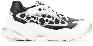 Sergio Rossi Animal Print Sneakers