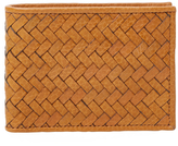 Cole Haan Woven Slimfold Wallet