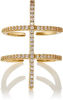 Fallon WOMEN'S LADDER DOUBLE-BAND CUFF RING-GOLD SIZE 6