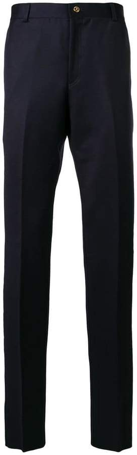 Thom Browne deconstructed tailored trousers
