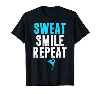 Namaste Apparel By Dba.Dezines Sweat Smile Repeat - Yoga T-Shirt