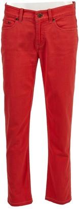 Loro Piana Red Cotton Trousers