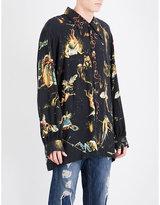 Vivienne Westwood Bosch Bodies-print Classic-fit Woven Shirt