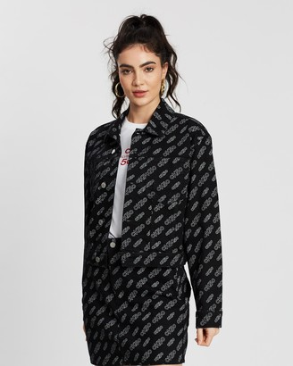 Calvin Klein Jeans Cropped Omega Jacket
