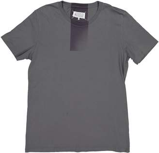 Maison Margiela Grey Cotton T-shirts