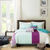 Nobrand No Brand Kyra 4 Piece Quilted Coverlet Set