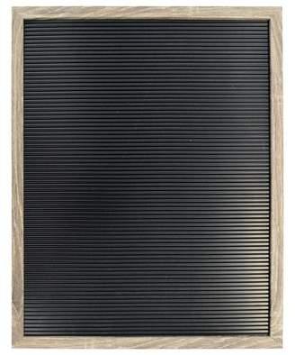 """New View Letterboard Decorative Wall Art Set Black 16""""x20"""""""