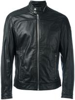 Diesel zipped jacket - men - Leather/Polyester - S