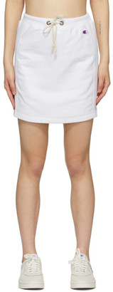 Champion Reverse Weave White Logo Sweat Skirt