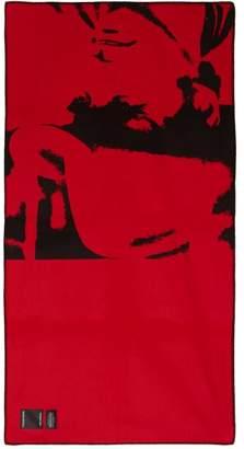 Calvin Klein X Pendleton Andy Warhol Wool-blend Blanket - Red