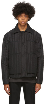 Craig Green Black Quilted Worker Jacket
