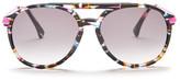 Wildfox Couture Women's Baroness Aviator Acetate Frame Sunglasses