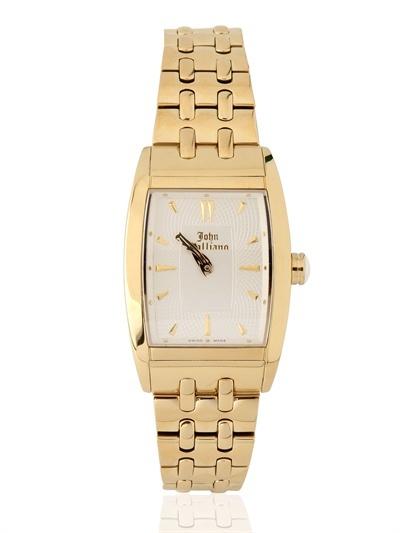 John Galliano Ronda Quartz Gold Watch