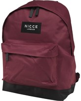 Nicce Mens Jondal Backpack Burgundy