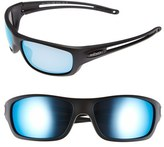 Revo Men's 'Guide S' 63Mm Polarized Sunglasses - Matte Black/ Blue Water