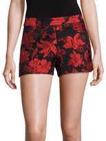 Alice + Olivia Marisa Jacquard Back Zip Shorts