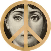 "Fornasetti Theme & Variations Decorative ""Peace Sign"" Plate"