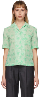 Commission Green Bowling Short Sleeve Shirt