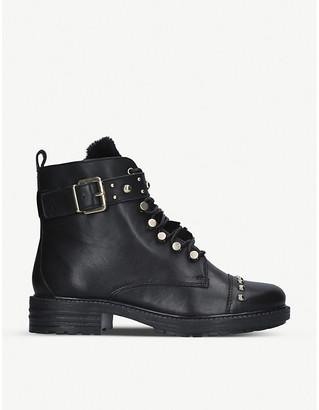 Carvela Sonny studded leather biker boots