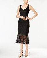 Jax Crochet Lace Trumpet Sheath Dress