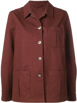 Holland & Holland Pointed Collar Jacket