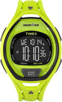Timex Unisex Digital Ironman Sleek Green Bracelet Watch 54mm TW5M01700JT
