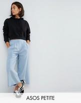 Asos Pleat Front Woven Culotte Pants