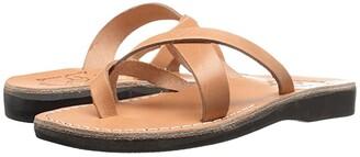 Jerusalem Sandals Abigail - Womens (Brown) Women's Wedge Shoes