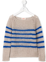Maan - striped jumper - kids - Acrylic/Nylon/Mohair - 4 yrs