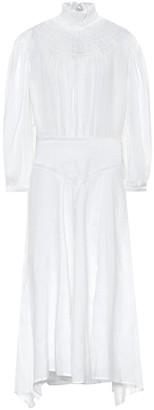 Etoile Isabel Marant Albane linen midi dress