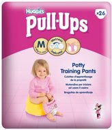 Huggies Pull-Ups Potty Training Pants for Girls Size 5 Medium 11-18kg