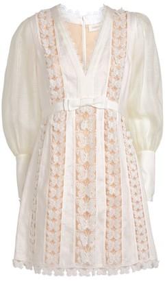 Zimmermann Super Eight Butterfly Mini Dress