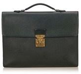 Louis Vuitton Pre-owned: Taiga Serviette Kourad Briefcase.