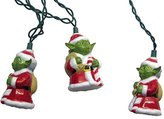 Kurt Adler UL 10-Light Star Wars Santa Yoda Light Set