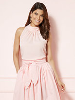 New York & Co. Eva Mendes Collection - Maddie Sleeveless Mock-Neck Blouse
