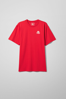 Weekday Authentic Wollie T-shirt - Red