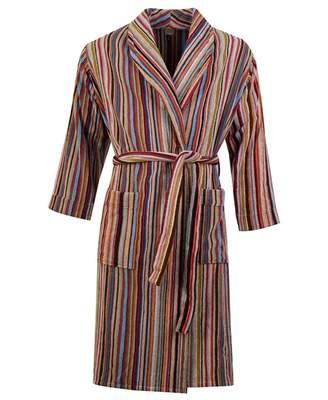 Paul Smith Multi Stripe Dressing Gown Colour: MULTI, Size: SMALL