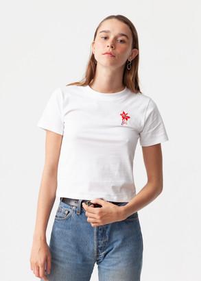 Carne Bollente White Flower of Desire T Shirt - l