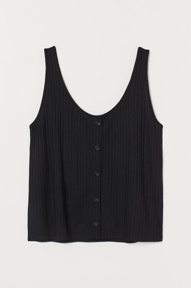 H&M H&M+ Top with buttons