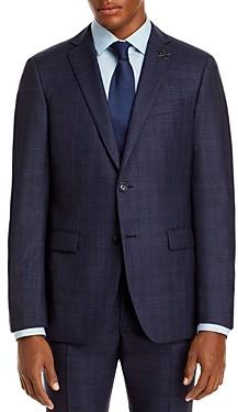 John Varvatos Slim Fit Bleecker Plaid Suit Jacket