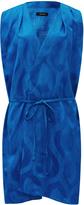 Isabel Marant Blue Sudley Mini Dress