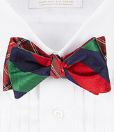 Daniel Cremieux Reversible Plaid Silk Bow Tie
