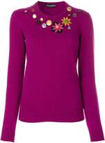 Dolce & Gabbana button detail top