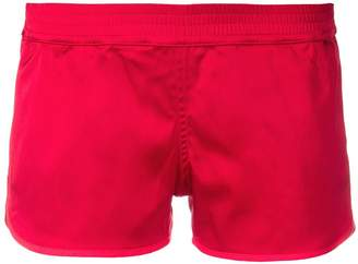 Margaux Rouge elasticated short shorts