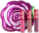 Lime Crime Velvetines Lipstick - Fuschia Rose 3-Piece Set