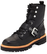 Sigerson Morrison Ida Leather Moto Boot