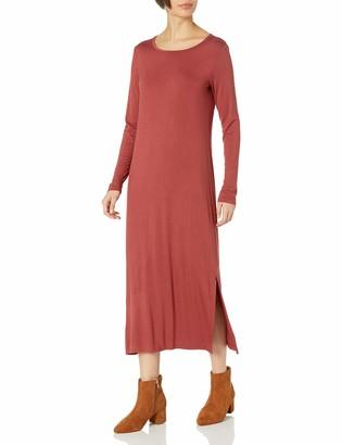 Daily Ritual Amazon Brand Women's Jersey Long-Sleeve Maxi Dress