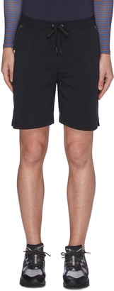 Particle Fever Quick dry stripe outseam running shorts