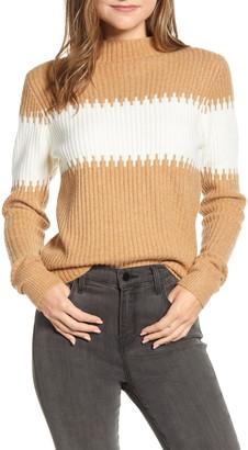 French Connection Sophia Stripe Rib Sweater